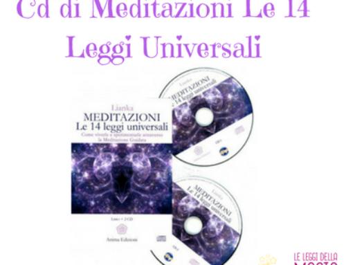 Cd di Meditazioni Le 14 Leggi Universali
