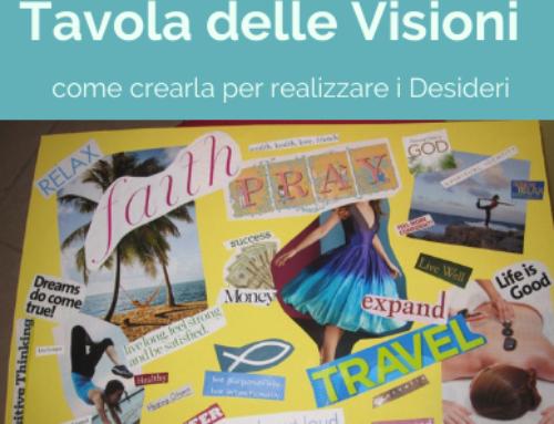 Crea La Tavola delle Visioni per realizzare i tuoi Desideri