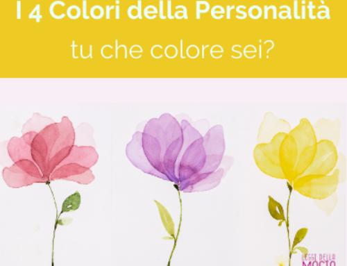 I 4 Colori Della Personalità: tu che colore sei?